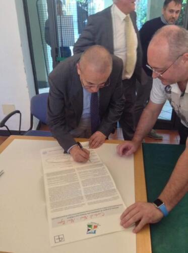"Tantative List UNESCO Oltregiogo Oltremare (Overseas) - Signing of the ""Novi Charter"""